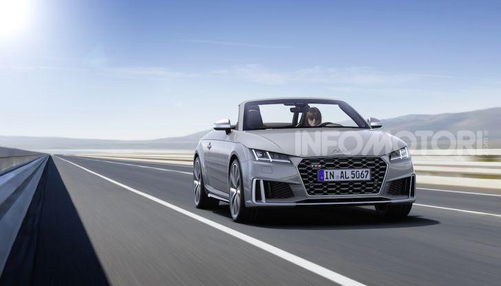 Nuova Audi TTS: ancora più sportiva - Foto 7 di 30