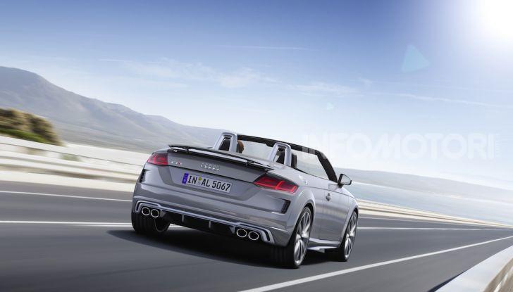 Nuova Audi TTS: ancora più sportiva - Foto 6 di 30