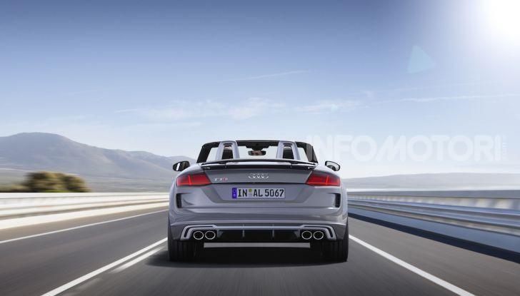 Nuova Audi TTS: ancora più sportiva - Foto 5 di 30