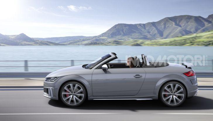 Nuova Audi TTS: ancora più sportiva - Foto 4 di 30