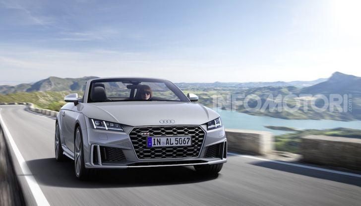 Nuova Audi TTS: ancora più sportiva - Foto 3 di 30