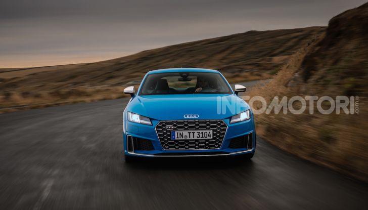 Nuova Audi TTS: ancora più sportiva - Foto 25 di 30