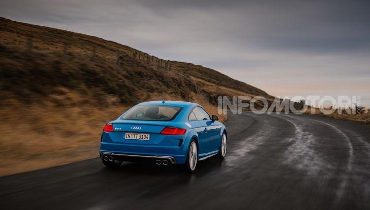 Nuova Audi TTS: ancora più sportiva - Foto 24 di 30