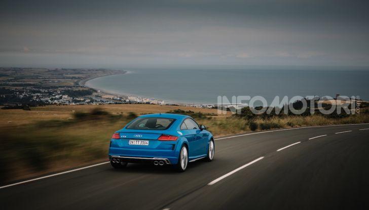 Nuova Audi TTS: ancora più sportiva - Foto 22 di 30