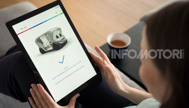 Bosch presenta al CES lo shuttle per la mobilità del futuro - Foto 1 di 7