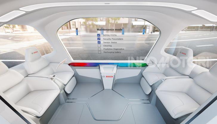 Bosch presenta al CES lo shuttle per la mobilità del futuro - Foto 4 di 7