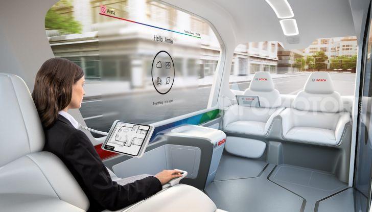 Bosch presenta al CES lo shuttle per la mobilità del futuro - Foto 5 di 7