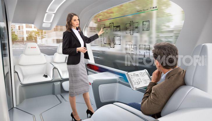 Bosch presenta al CES lo shuttle per la mobilità del futuro - Foto 6 di 7