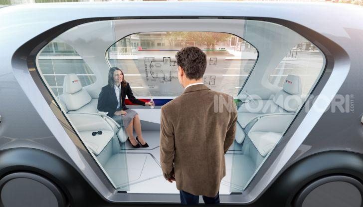 Bosch presenta al CES lo shuttle per la mobilità del futuro - Foto 7 di 7