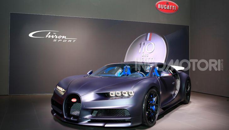 Bugatti Chiron Sport: arriva la serie 110 ans Bugatti - Foto 1 di 14
