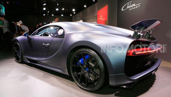Bugatti Chiron Sport: arriva la serie 110 ans Bugatti - Foto 3 di 14