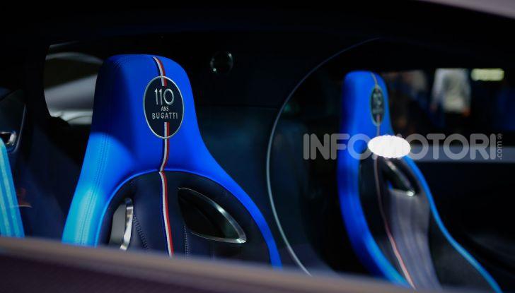 Bugatti Chiron Sport: arriva la serie 110 ans Bugatti - Foto 13 di 14