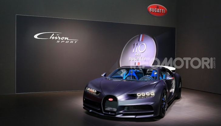 Bugatti Chiron Sport: arriva la serie 110 ans Bugatti - Foto 14 di 14