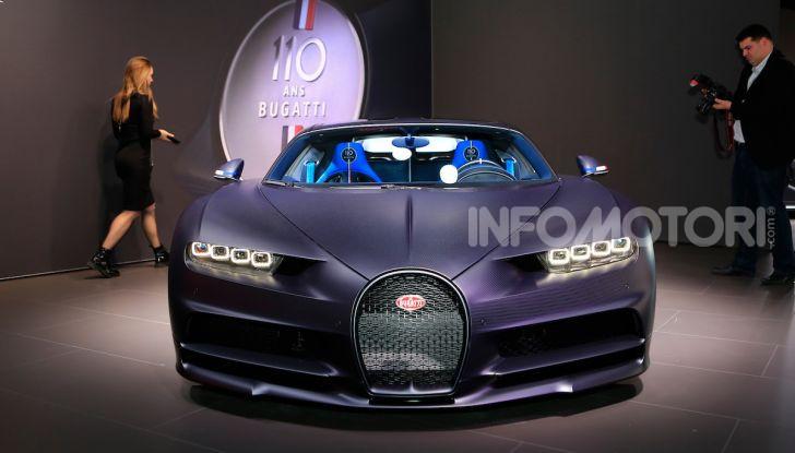 Bugatti Chiron Sport: arriva la serie 110 ans Bugatti - Foto 4 di 14