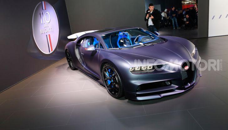 Bugatti Chiron Sport: arriva la serie 110 ans Bugatti - Foto 5 di 14