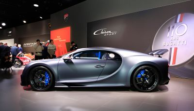 Bugatti Chiron Sport: arriva la serie 110 ans Bugatti