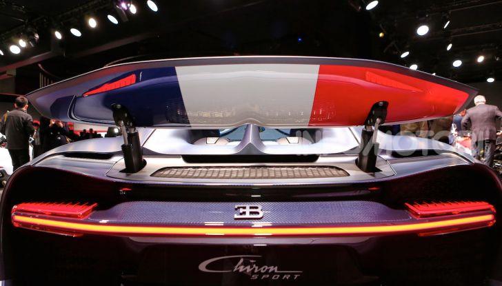 Bugatti Chiron Sport: arriva la serie 110 ans Bugatti - Foto 11 di 14