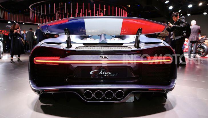 Bugatti Chiron Sport: arriva la serie 110 ans Bugatti - Foto 9 di 14