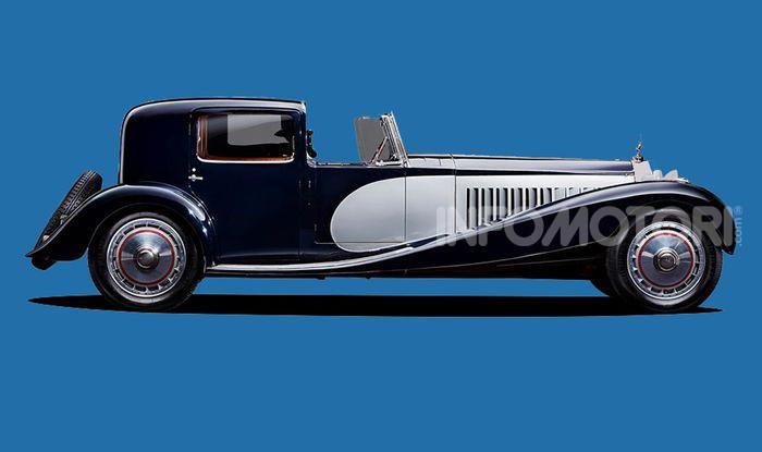 Bugatti Royale, limousine elettrica su base Taycan - Foto 2 di 6