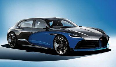 Bugatti Royale, limousine elettrica su base Taycan
