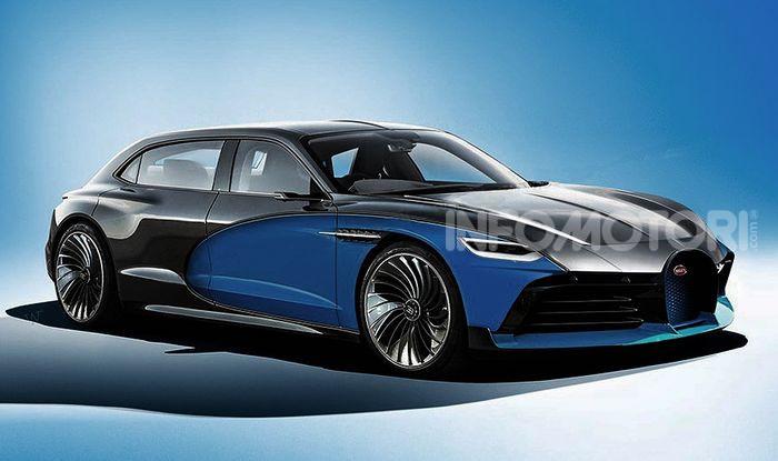 Bugatti Royale, limousine elettrica su base Taycan - Foto 1 di 6