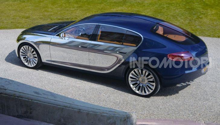 Bugatti Royale, limousine elettrica su base Taycan - Foto 5 di 6