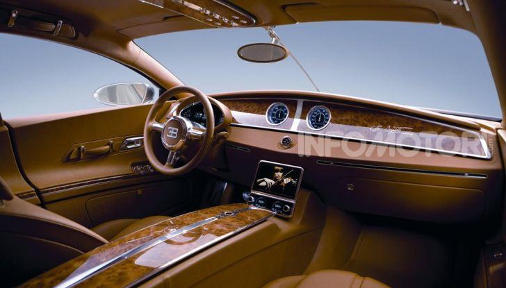 Bugatti Royale, limousine elettrica su base Taycan - Foto 6 di 6