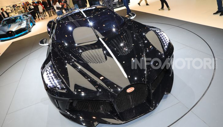 Bugatti La Voiture Noire: supercar da 11 milioni di euro - Foto 19 di 32