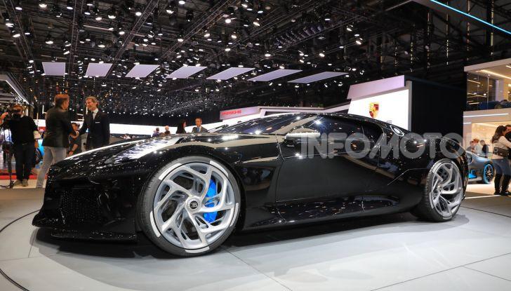 Bugatti La Voiture Noire: supercar da 11 milioni di euro - Foto 22 di 32