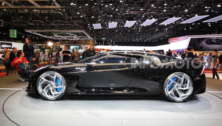 Bugatti La Voiture Noire: supercar da 11 milioni di euro - Foto 24 di 32