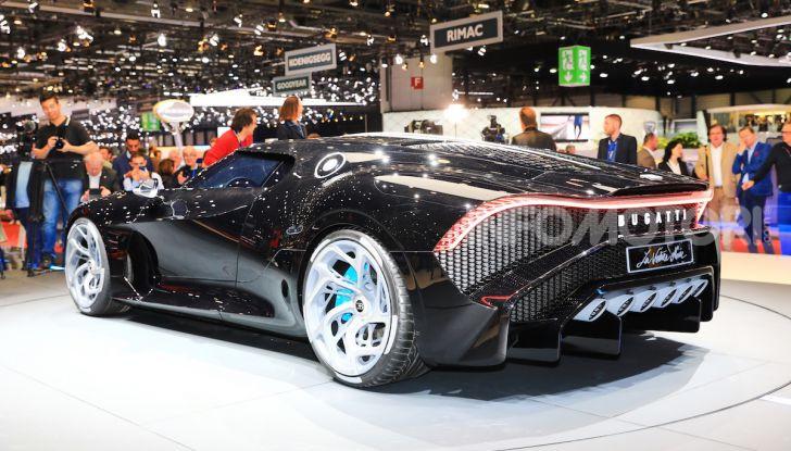 Bugatti La Voiture Noire: supercar da 11 milioni di euro - Foto 3 di 32