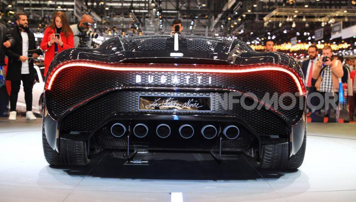 Bugatti La Voiture Noire: supercar da 11 milioni di euro - Foto 13 di 32