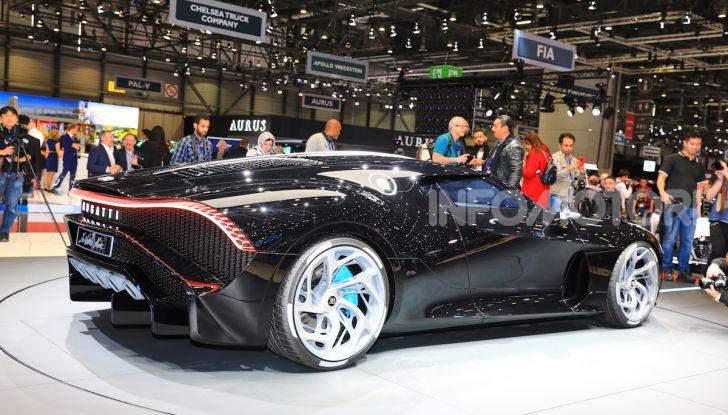 Bugatti La Voiture Noire: supercar da 11 milioni di euro - Foto 28 di 32