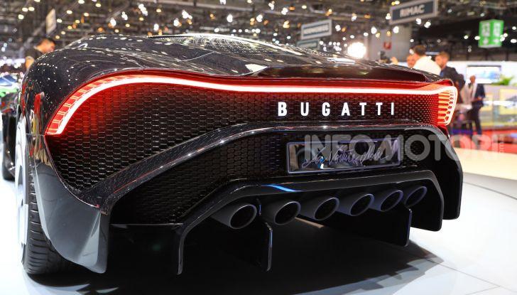 Bugatti La Voiture Noire: supercar da 11 milioni di euro - Foto 29 di 32
