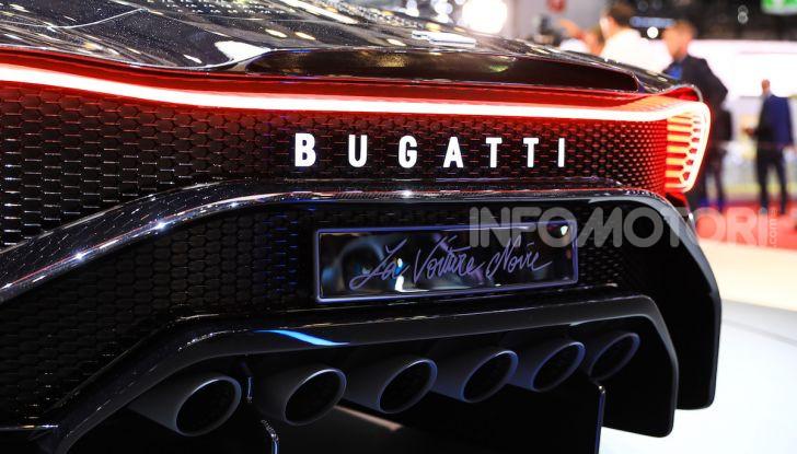 Bugatti La Voiture Noire: supercar da 11 milioni di euro - Foto 30 di 32