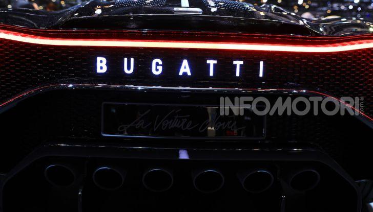 Bugatti La Voiture Noire: supercar da 11 milioni di euro - Foto 31 di 32