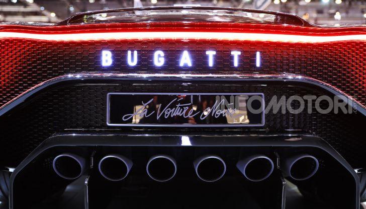Bugatti La Voiture Noire: supercar da 11 milioni di euro - Foto 32 di 32