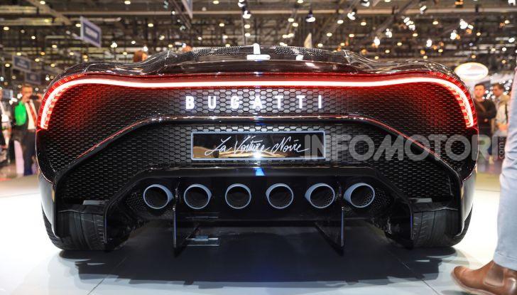 Bugatti La Voiture Noire: supercar da 11 milioni di euro - Foto 7 di 32