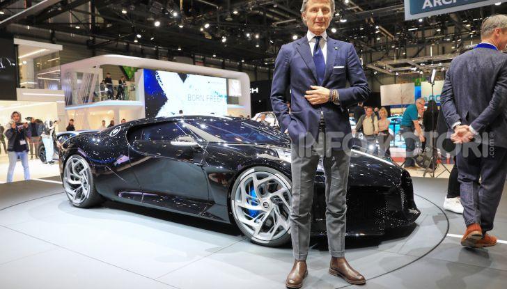 Bugatti La Voiture Noire: supercar da 11 milioni di euro - Foto 9 di 32