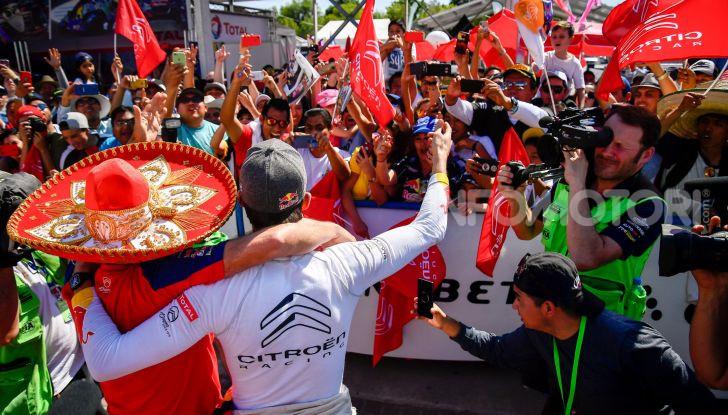 WRC Messico: Sébastien Ogier e Julien Ingrassia conquistano la seconda vittoria stagionale in tre gare a bordo di una C3 WRC - Foto 2 di 3