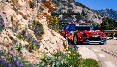 WRC Tour de Corse 2019, arrivo: secondo posto per la Citroën C3 WRC di Ogier - Ingrassia