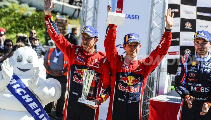 WRC Tour de Corse 2019: le dichiarazioni del team Citroën a fine gara - Foto 1 di 2
