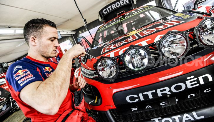 WRC Messico 2019: da Citroën il taccuino di Sébastien Ogier - Foto 1 di 3