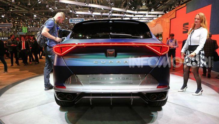 Cupra Formentor 2020, dati tecnici del SUV Coupé - Foto 11 di 16