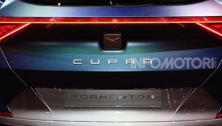 Cupra Formentor 2020, dati tecnici del SUV Coupé - Foto 12 di 16