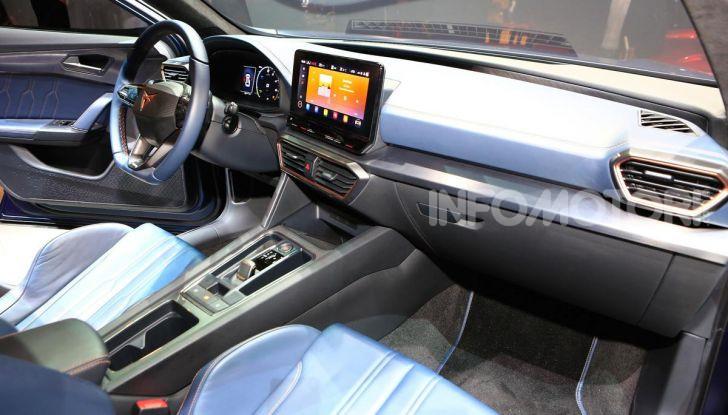 Cupra Formentor 2020, dati tecnici del SUV Coupé - Foto 16 di 16