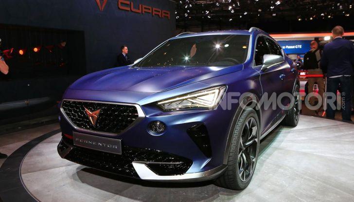 Cupra Formentor 2020, dati tecnici del SUV Coupé - Foto 6 di 16