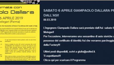 Una giornata con Gianpaolo Dallara
