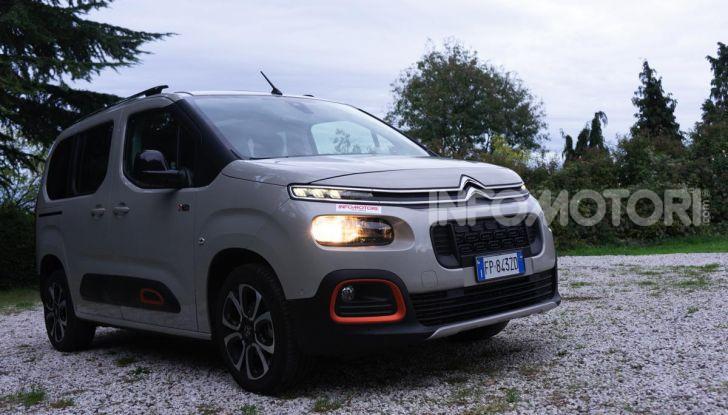 Citroën Berlingo 2019, prova su strada del 1.5 Diesel da 102CV - Foto 6 di 36