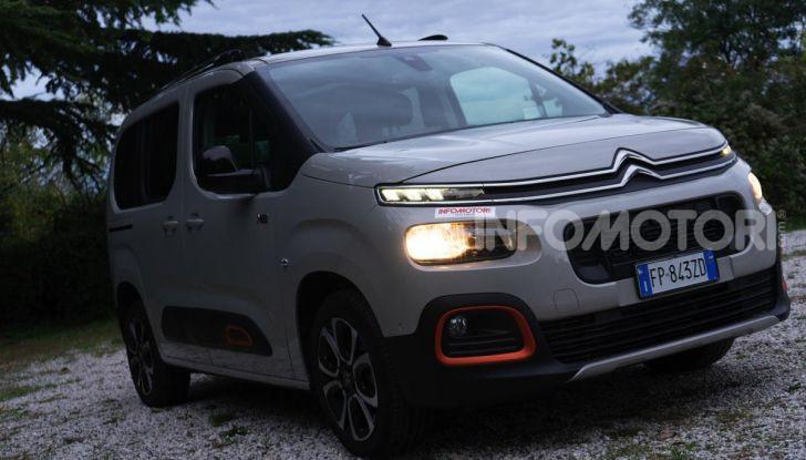 Citroën Berlingo 2019, prova su strada del 1.5 Diesel da 102CV - Foto 1 di 36